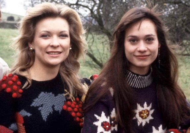 Claire King and Leah Bracknell on 'Emmerdale' in