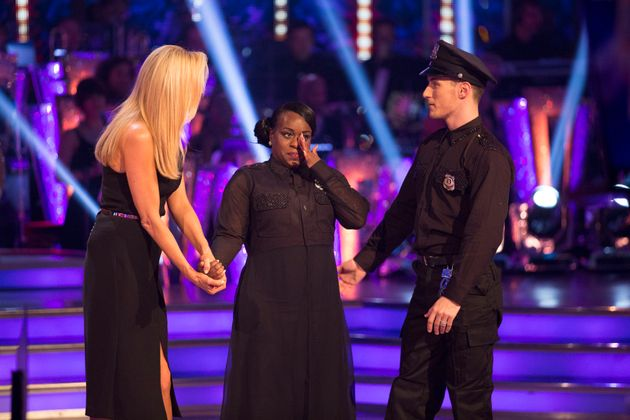 Fans had hoped to see Tameka Empson