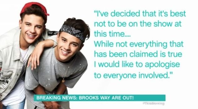 Brooks Way: 'X Factor' Twins Have Been Axed PERMANENTLY From The Show Over Abuse