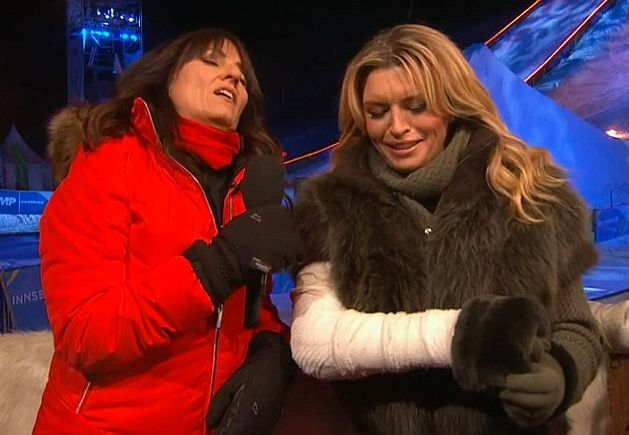 Tina Hobley was one of the several contestants injured on this year's