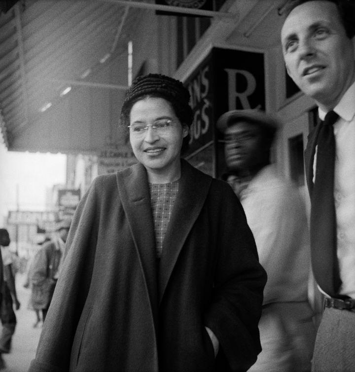 Rosa ParksinDecember 1956 at age 43.
