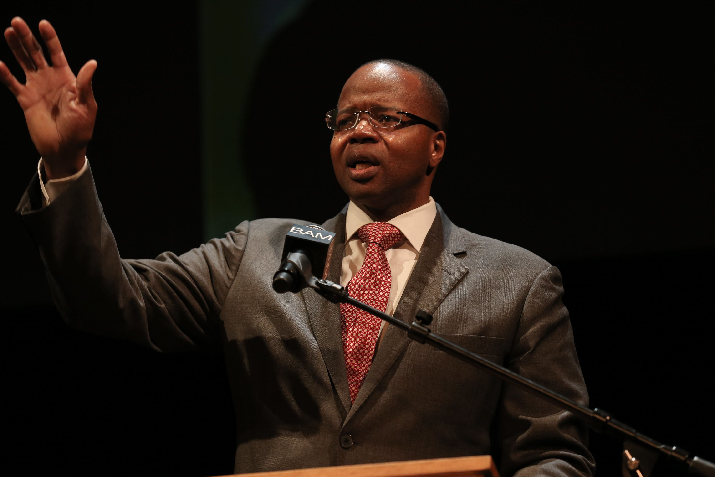 NEW YORK, NY - JANUARY 20:  Brooklyn District Attorney Ken Thompson attends the 28th Annual Brooklyn Tribute to Dr. Martin Luther King Jr. at BAM Howard Gilman Opera House on January 20, 2014 in New York City.  (Photo by Charles Norfleet/Getty Images)