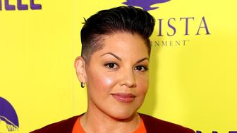 HOLLYWOOD, CA - SEPTEMBER 29:  Actress and Producer Sara Ramirez attends the premiere of Marvista Entertainment's 'Loserville' at ArcLight Hollywood on September 29, 2016 in Hollywood, California.  (Photo by Justin Baker/Getty Images)