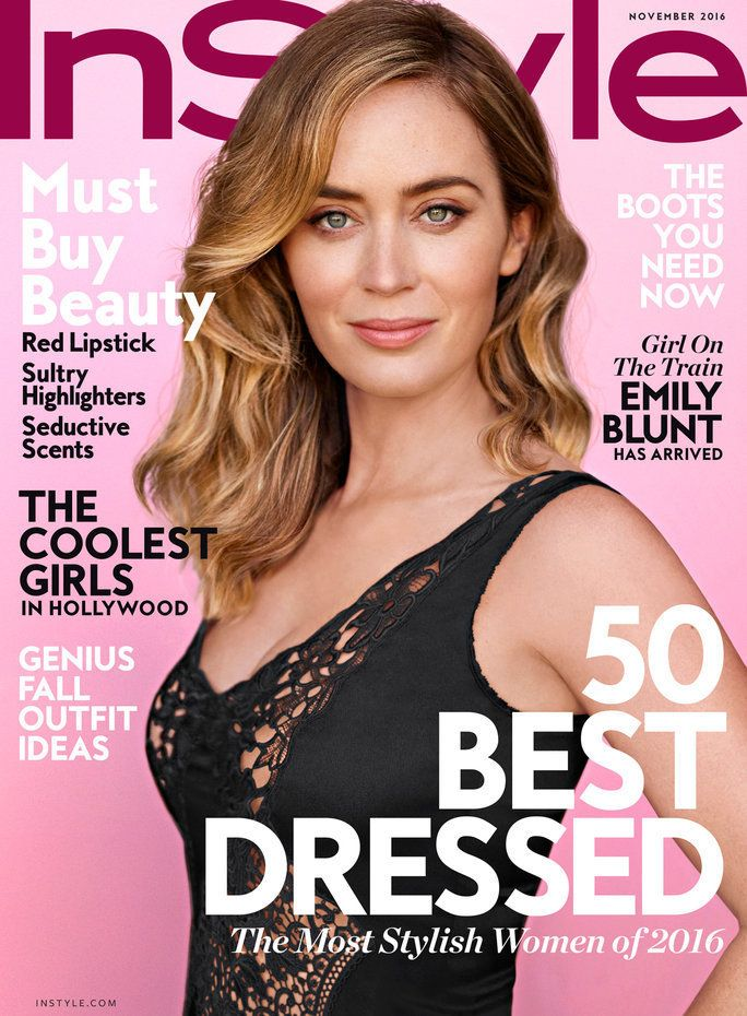 Emily Blunt got real about motherhood in her InStyle cover interview.
