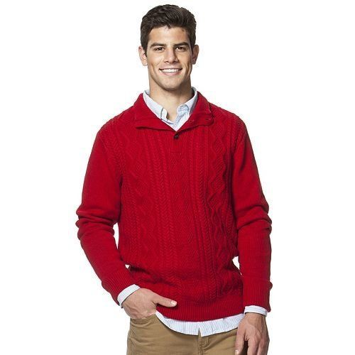 Kohls Red Sweater Baggage Clothing