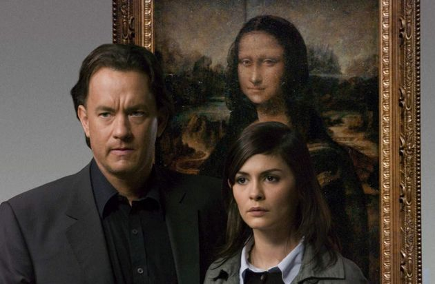 Tom Hanks starred with Audrey Tautou in the film of 'The Da Vinci