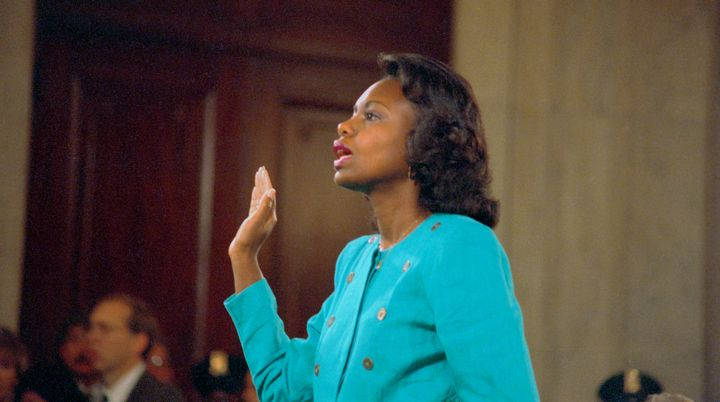 In 1991, Professor Anita Hill testified before the all-male, all-white Senate Judiciary Committee about the sexual harassment she faced from Clarence Thomas, who wasnevertheless confirmed to the Supreme Court.