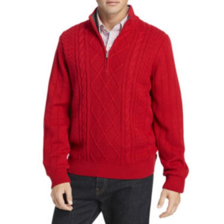 "<a href=""http://www.jcpenney.com/izod-aran-cable-knit-quarter-zip-sweater/prod.jump?ppId=pp5006162587&amp;country=US&amp;currency=USD&amp;selectedSKUId=56365551057&amp;selectedLotId=5636555&amp;fromBag=true&amp;quantity=1&amp;cm_mmc=ShoppingFeed-_-GooglePLA-_-Pullover%20Sweaters-_-56365551057&amp;utm_medium=cse&amp;utm_source=google&amp;utm_campaign=pullover%20sweaters&amp;utm_content=56365551057&amp;gclid=CN6j-rXK0M8CFcIfhgodhrgFQw&amp;kwid=productads-adid^45810122978-device^c-plaid^76121677538-sku^56365551057-adType^PLA"" target=""_blank"">IZOD Aran Cable-Knit Quarter-Zip Sweater, $27.99</a>"