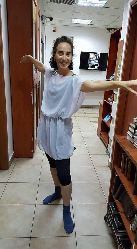 Choreographer Judy Kizer