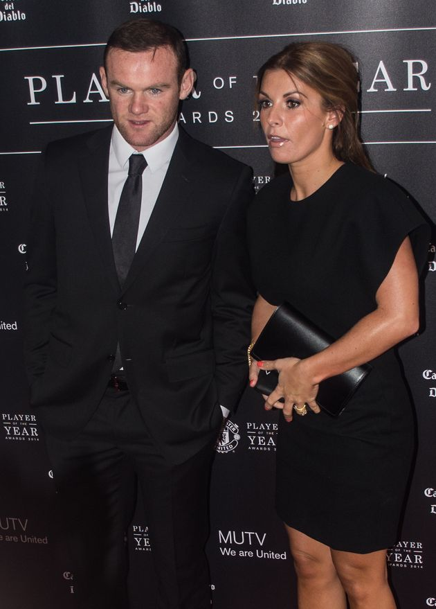 Coleen Rooney with husband