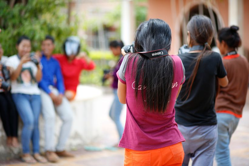 Photography workshops at AFESIP