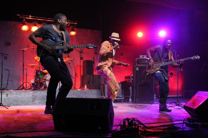 Zimbabwe-based Afro-funk band Mokoomba rocked the stage Friday night.