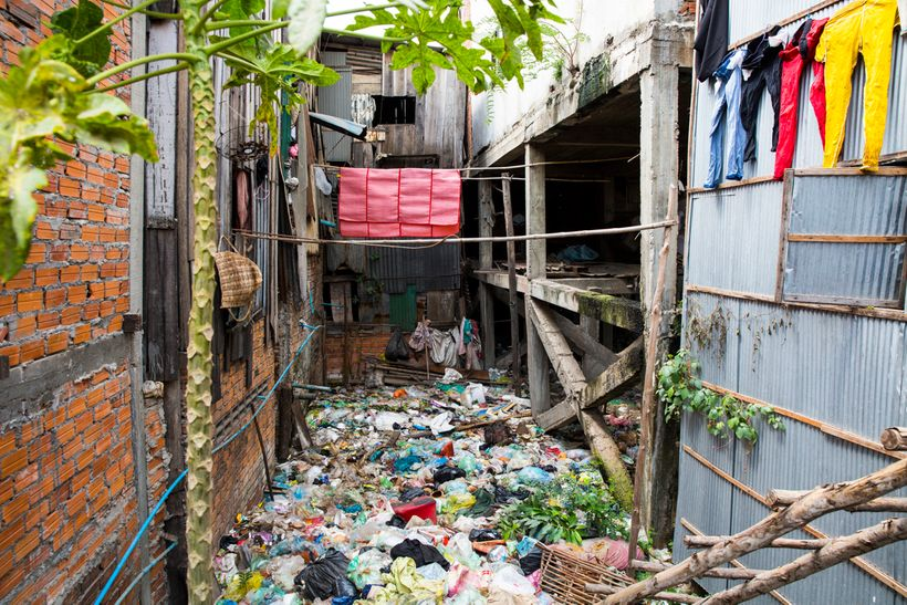 Living amongst the trash in Shanty Town Spirit