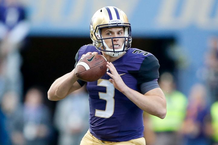 Washington's sophomore standout Jake Browning leads the nation in touchdown passes.