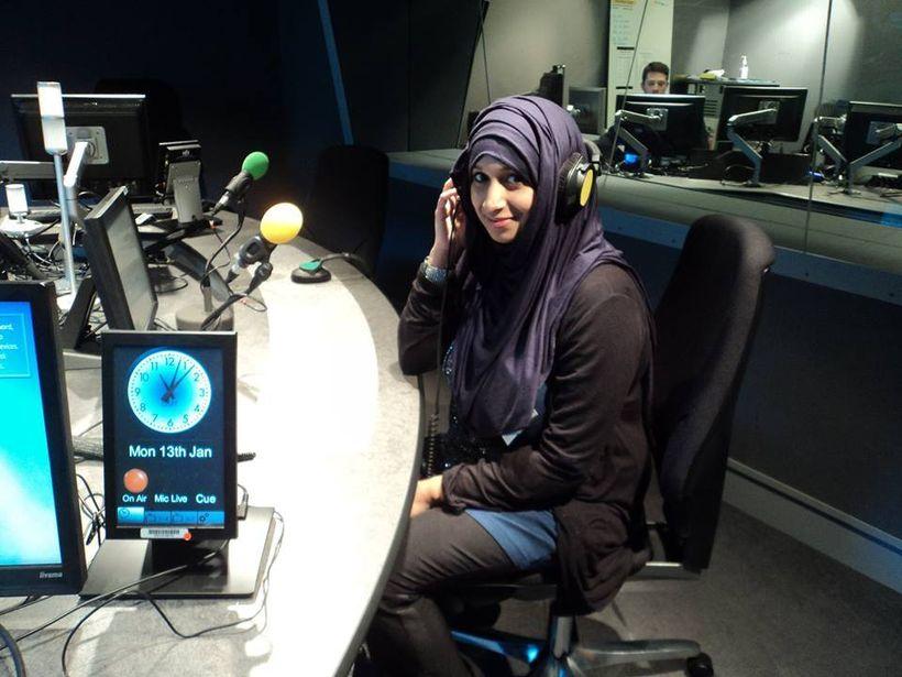 Tasnim at BBC Radio