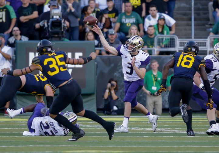 Jake Browning has been a revelation for the undefeated and fifth-ranked Huskies.