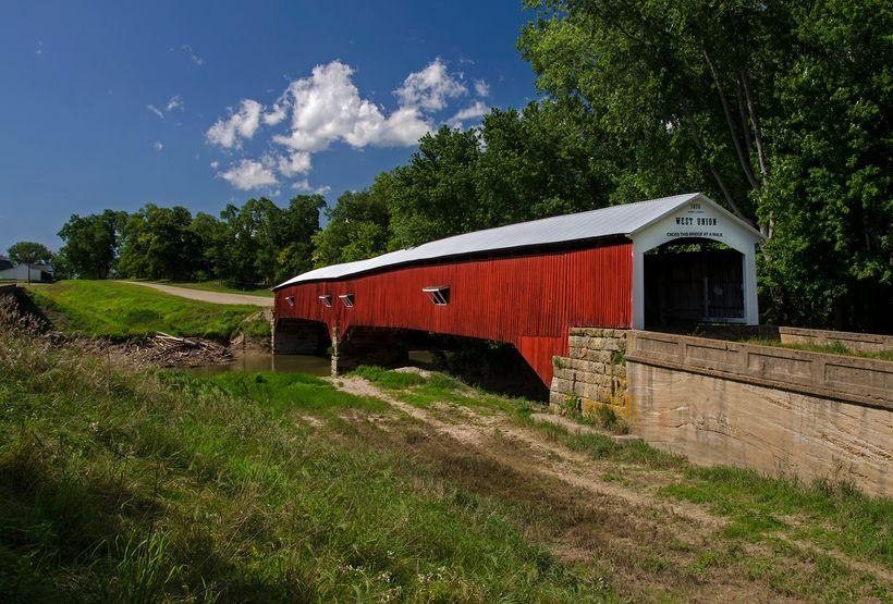 The West Union Covered Bridge