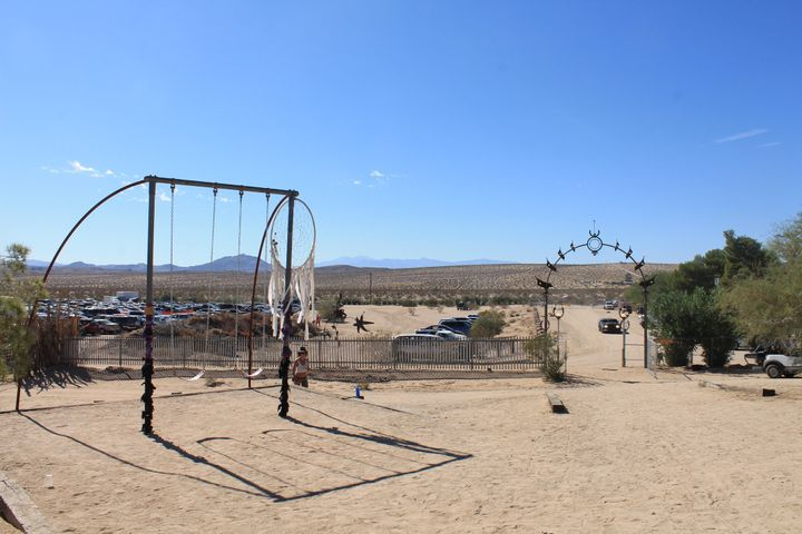 The grounds at Joshua Tree Music Festival.