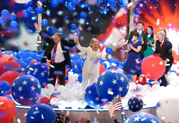 I watched the Democratic National Convention; my husband watched Netflix instead.