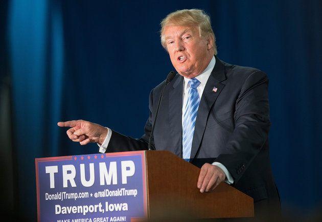 """Donald Trump <a href=""""http://www.huffingtonpost.com/entry/donald-trump-muslim-immigration-us_us_5665f75de4b072e9d1c7252b"""">cal"""