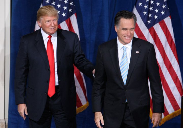 Donald Trump is polling significantly behind Mitt Romney, whom he endorsed in 2012. Sad!