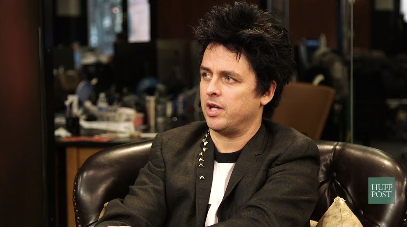 Green Days Billie Joe Armstrong discusses the new album Revolution Road and his new movie Ordinary World