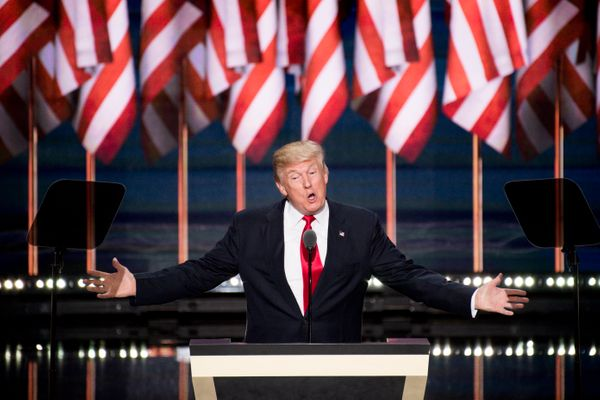 "During his&nbsp;acceptance speech at the <a href=""https://www.huffpost.com/topic/republican-convention"">Republican National C"