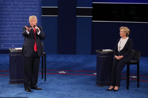 "In response to a question during the second presidential debate, Trump <a href=""https://www.huffpost.com/entry/presidential-d"