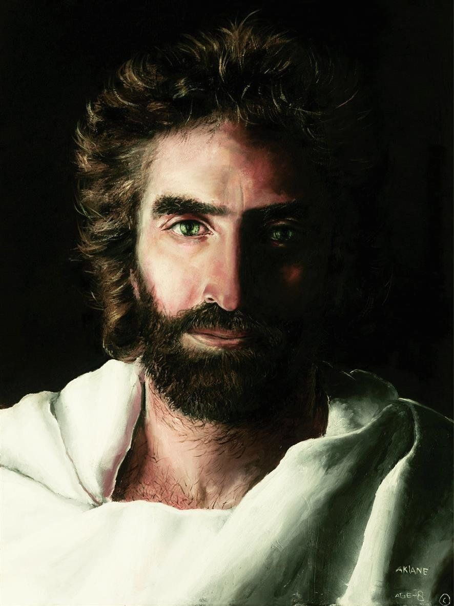 Akiane painted this portrait of Jesus when she was 8 years old.