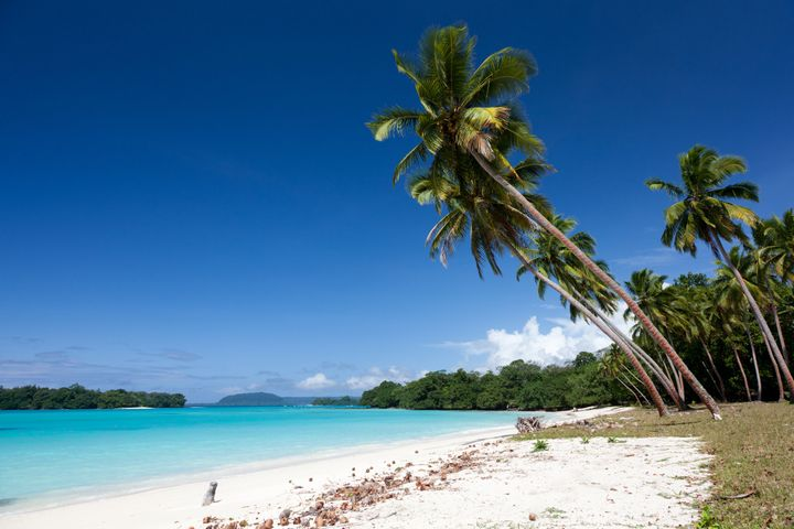 Vanuatu is known for beaches that are relatively tourist-free.