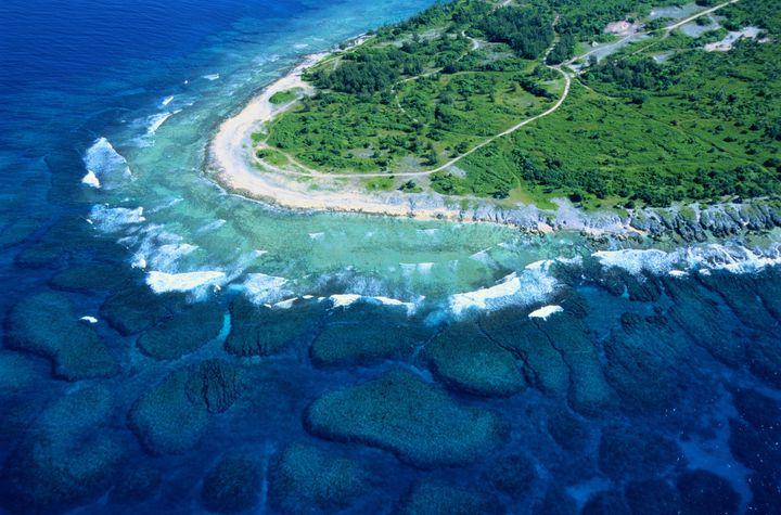 A blue-water cape on Efate, one of Vanuatu's main islands.