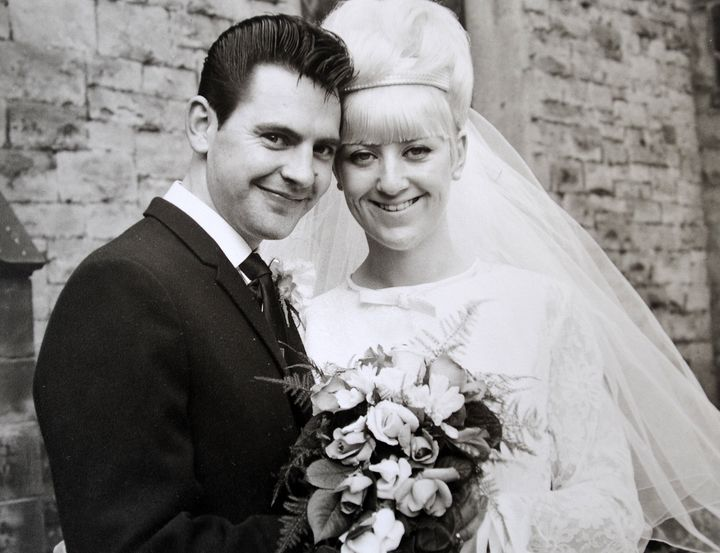 Carole-Ann and Jim Stanfield tied the knot on Oct. 1, 1966.