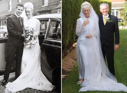 50 Years Later, This Couple Still Fits Into Their 1966 Wedding Outfits