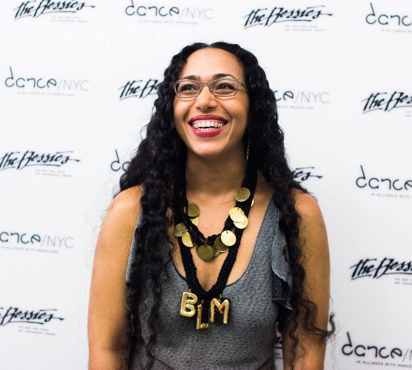 Joya Powell at the 2016 Bessie Awards Press Anouncement