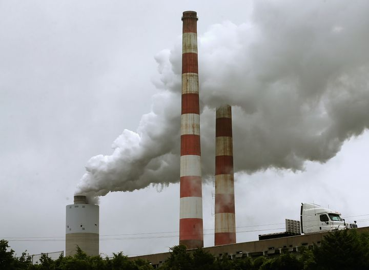 "Industry groups accuse Obama of declaring ""war on coal"" in his plan to cut greenhouse gas emissions cut"