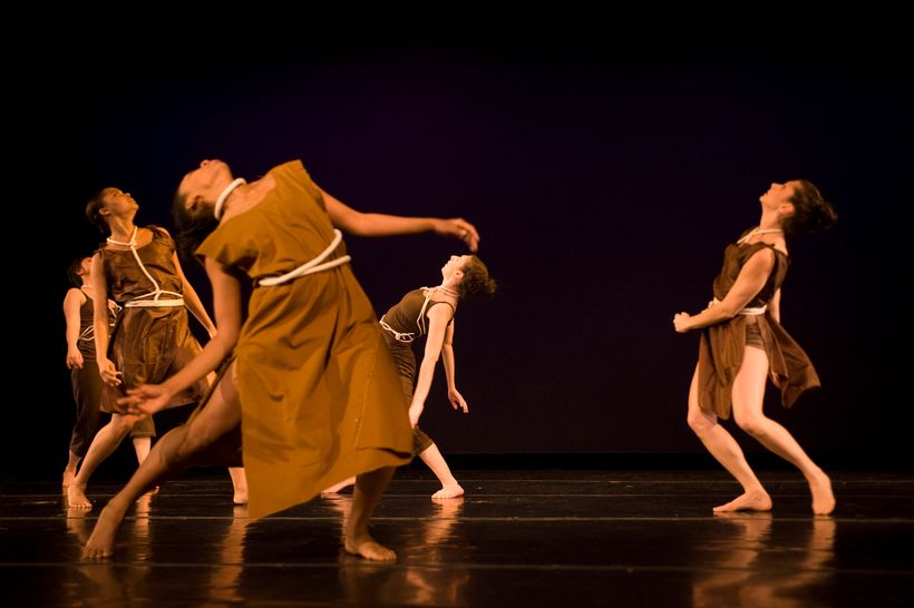 """Movement of the People Dance Company in """"Breathless"""" at The NuDance Festival"""