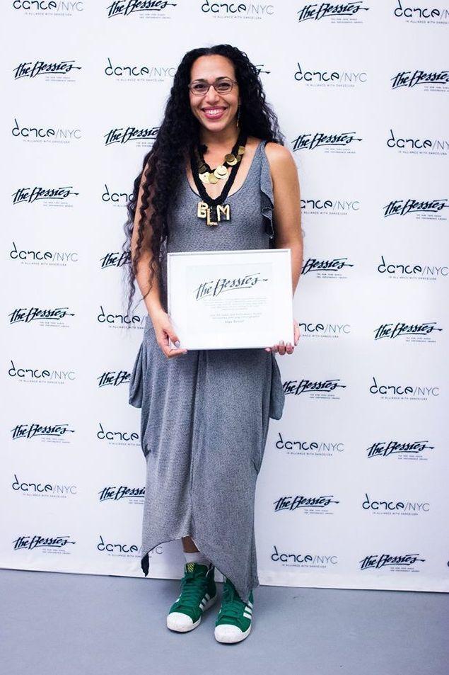 Joya Powell; 2016 Outstanding Emerging Choreographer Bessie Awardee