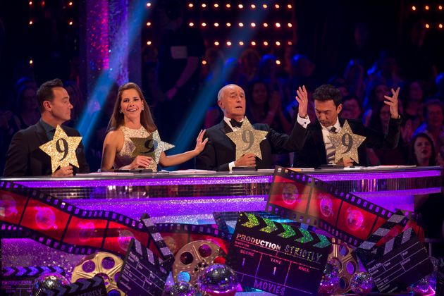 The 'Strictly' judges: (l-r) Craig Revel Horwood, Darcey Bussell, Len Goodman and Bruno