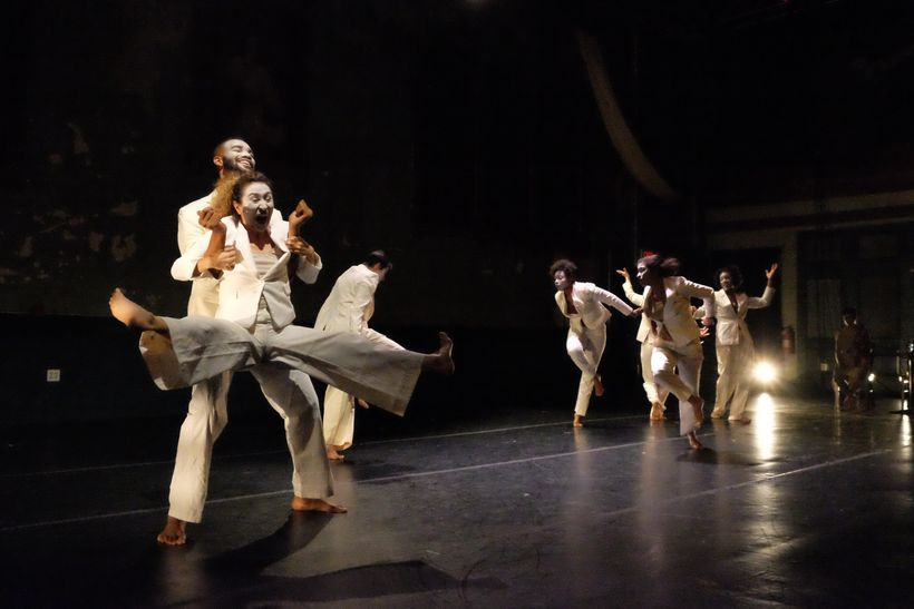 """Movement of the People Dance Company in """"Song and Dance You"""" (2016)"""