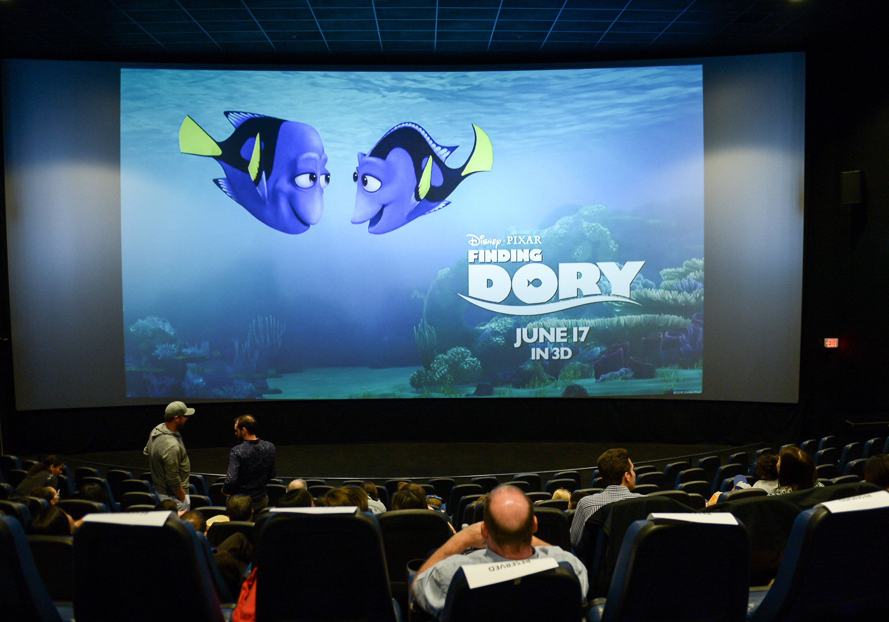 TORONTO, ON - JUNE 15:  A general view of atmosphere at the 'Finding Dory' advanced screening at Cineplex Cinemas Yonge-Dundas on June 15, 2016 in Toronto, Canada.  (Photo by GP Images/WireImage)