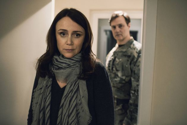 The second series of 'The Missing' started Keeley Hawes and David