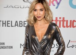 Myleene Klass Brings Some Serious Glamour To Attitude Awards