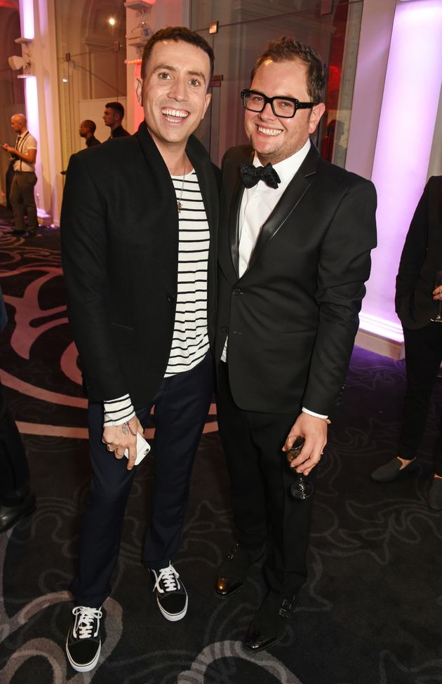 Alan Carr and Nick