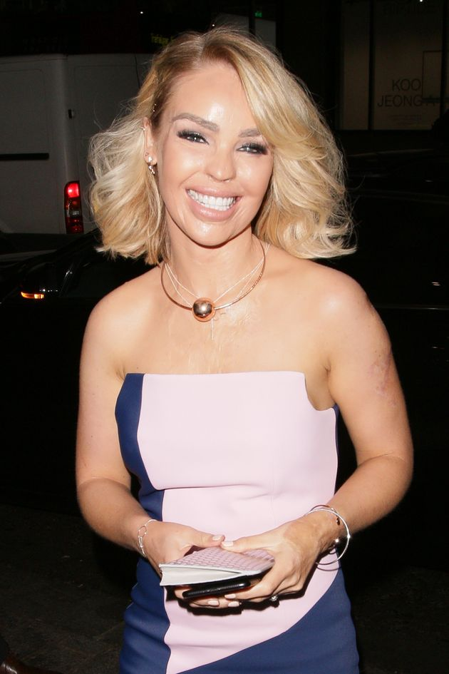 Katie Piper at the Attitude awards in October