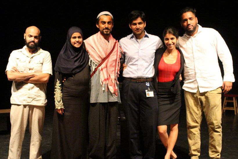 "Cast of ""A Muslim in the Midst"" by Anand Rao"