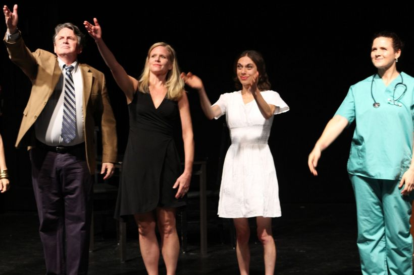 "Cast of ""Bluff"" by Lenore M. Skomal, take a bow"