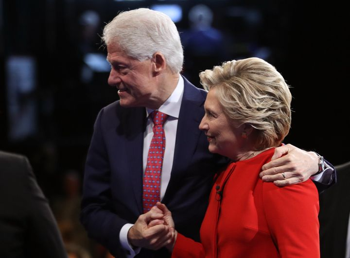The Clintons are celebrating their 41st wedding anniversary.