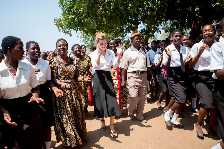 During Emma Watson's visit to Malawi, the British actress met with traditional leaders who have championed the annulment of c