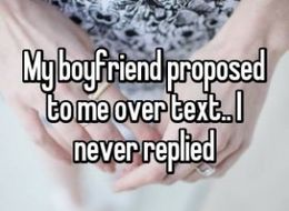 13 Rejected Marriage Proposals That Will Make You Cringe
