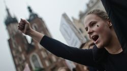Poland's Massive Abortion Protest Shows Frustration With Rightward